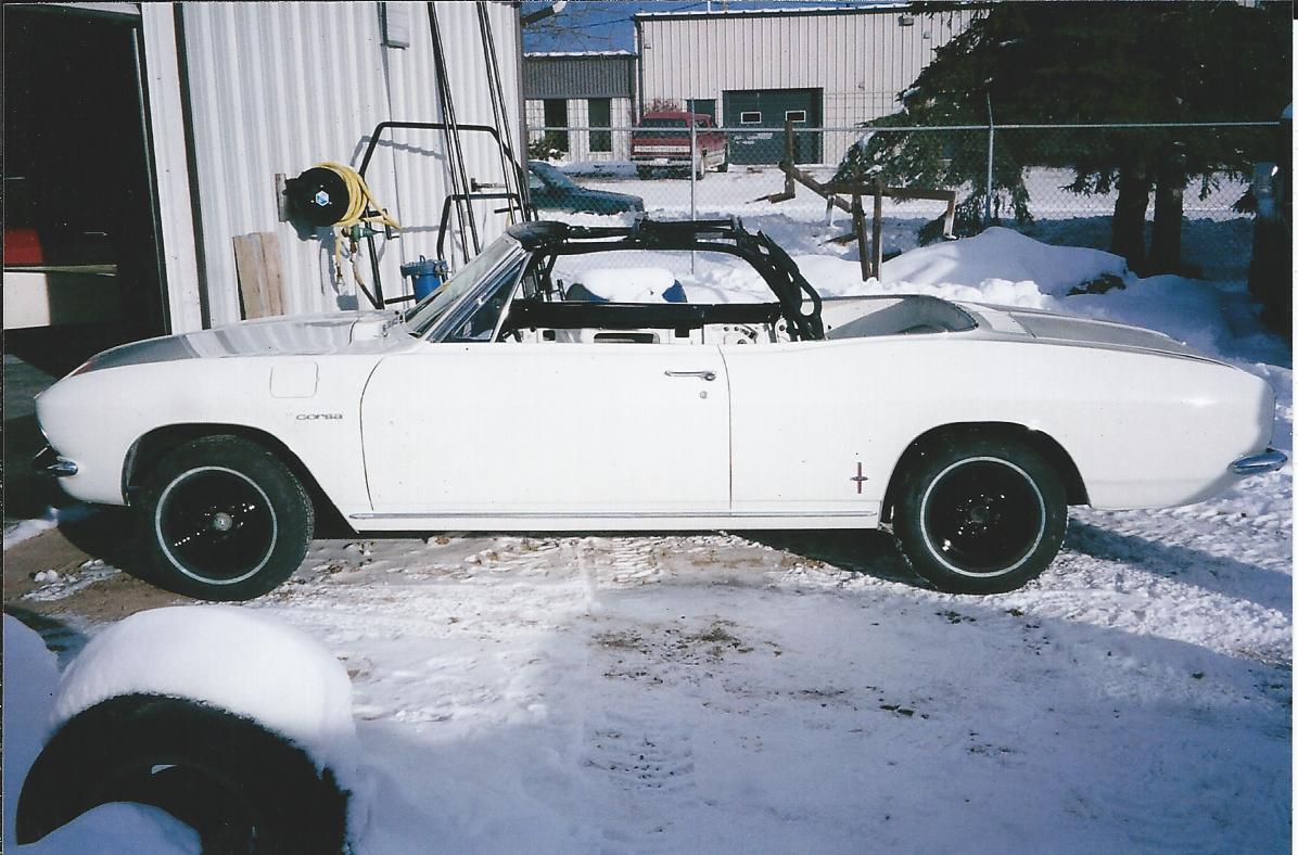 Turbo Charged Corvair Spyder
