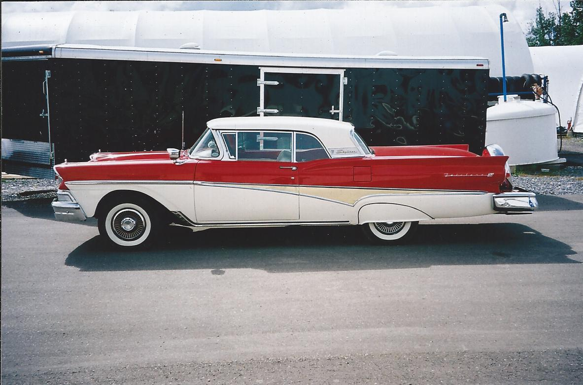 1959 Ford Fairlane Retractible Hardtop