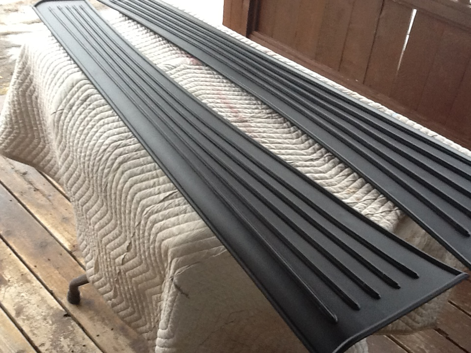 1936 Nash remanufactured running boards